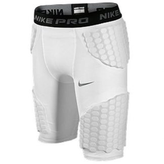Spodenki ochronne Nike Pro Combat White Jr  tylko w Narty Sklep Online