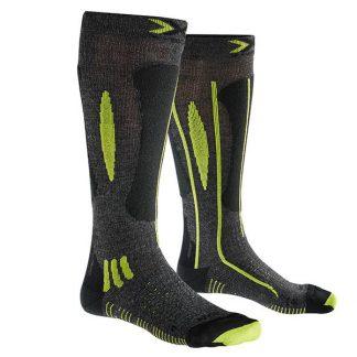 Skarpety X-Socks Effektor xbs. Ski Race Grey Black Lime G492 2018  tylko w Narty Sklep Online