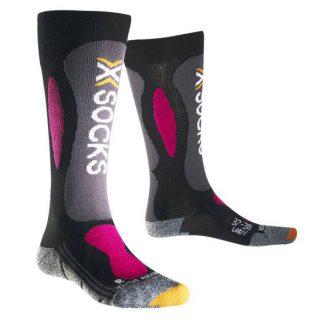 Skarpety X-Socks Ski Carving Silver Lady Black Violet B117 2018  tylko w Narty Sklep Online