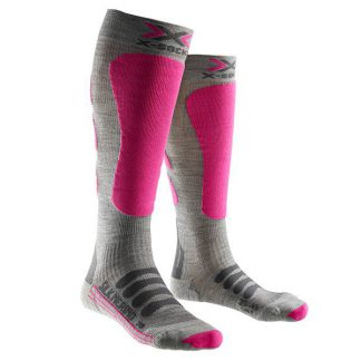 Skarpety X-Socks Ski Silk Merino Lady Grey Fuchsia G361 2018  tylko w Narty Sklep Online