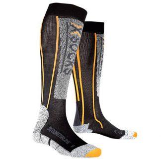 Skarpety X-Socks Ski Silver Adrenaline Black Orange B078 2019  tylko w Narty Sklep Online