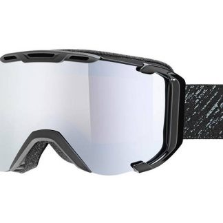 Gogle UVEX Snowstrike FM Black Mat Mirror Silver (2126) 2018  tylko w Narty Sklep Online