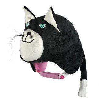Nakładka na kask - Ski Fix - Black Cat 2018  tylko w Narty Sklep Online