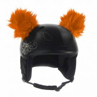 Naklejane uszy na kask - Ski Fix - Coala Orange 2018  tylko w Narty Sklep Online