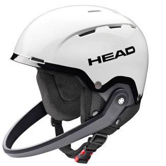 Kask HEAD Team SL + Chinguard White Black 2018  tylko w Narty Sklep Online