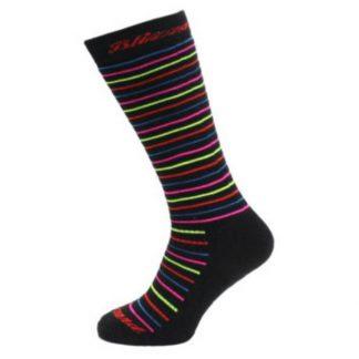 Skarpety Blizzard Viva Allround Ski Socks Junior Black Anthracite Rainbow stripes 2018  tylko w Narty Sklep Online