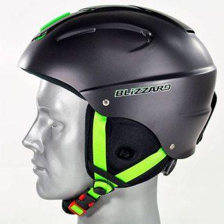 Kask Blizzard Mega Ski Helmet Black Matt/Lime  tylko w Narty Sklep Online
