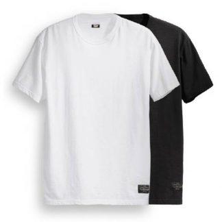 Koszulka Levis Skateboarding 2 Pack Tee Starndard Fit Jet Black (19452-0010) F/W 2018  tylko w Narty Sklep Online