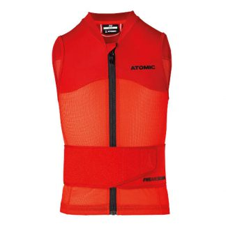 Ochraniacze na narty / Kamizelka Atomic LIVE SHIELD Vest JR Red 2019  tylko w Narty Sklep Online