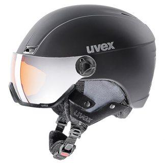 Kask z przyłbicą szybą Uvex Hlmt 400 Visor Style Black Mat (20) 2019 OTG  tylko w Narty Sklep Online