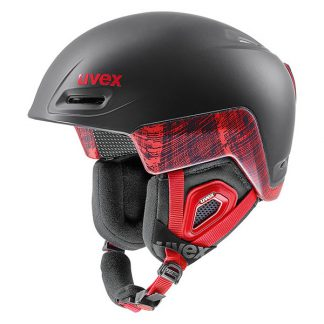 Kask UVEX Jimm Octo+ Black Red Mat 2019  tylko w Narty Sklep Online