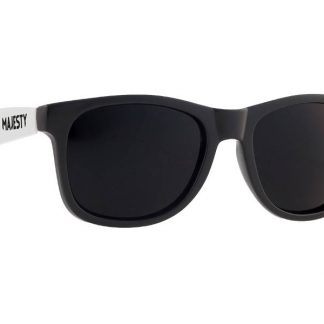 Okulary Majesty L+ Black/White with Smoke Lenses  tylko w Narty Sklep Online