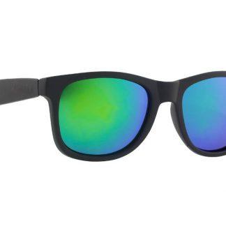Okulary Majesty L+ Black/Polished Black with Green Lenses  tylko w Narty Sklep Online