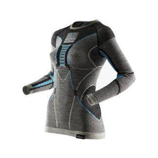 Koszulka damska termoaktywna X-Bionic Apani Merino Grey B284 2019  tylko w Narty Sklep Online