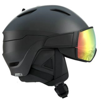 Kask SALOMON DRIVER+ PHOTO Black All Weather 2019  tylko w Narty Sklep Online