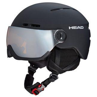 Kask z przyłbicą szybą HEAD Knight Black 2019  tylko w Narty Sklep Online