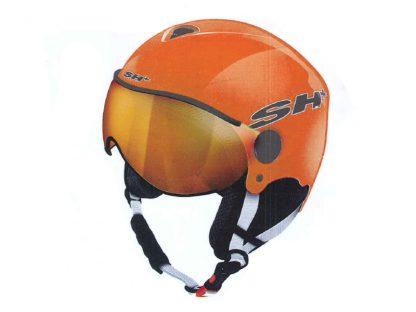 Kask narciarski SH+ Pads Junior Visor Orange 2019  tylko w Narty Sklep Online
