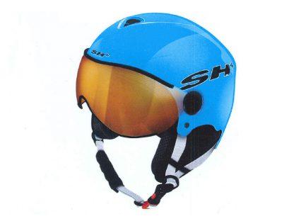 Kask narciarski SH+ Pads Junior Visor Light Blue 2019  tylko w Narty Sklep Online