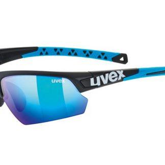Okulary Uvex Sportstyle 224 Black Mat Blue 2019  tylko w Narty Sklep Online
