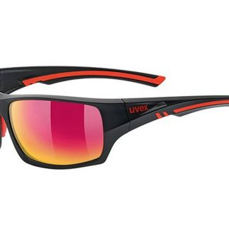 Okulary Uvex Sportstyle 222 Black Mat Red Polaryzacja  tylko w Narty Sklep Online
