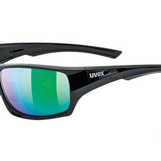 Okulary Uvex Sportstyle 222 Black Green Polaryzacja  tylko w Narty Sklep Online