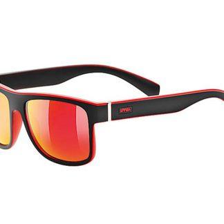 Okulary Uvex Lgl 21 Black Mat Red  tylko w Narty Sklep Online