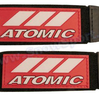 Zapinki do nart Atomic Czerwono/Białe - 2szt. (3002)  tylko w Narty Sklep Online