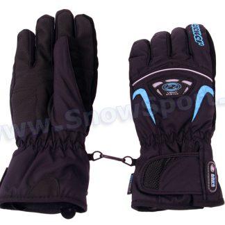 Rękawice Ziener GLENN AS Glove Ski Alpine (Black/Blue)  tylko w Narty Sklep Online