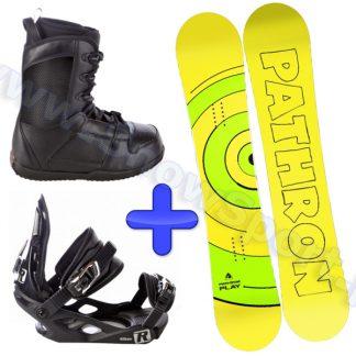 Zestaw deska Pathron Play + wiązania Raven S200 + buty Raven Target 2014  tylko w Narty Sklep Online