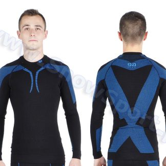 Bluza Gatta Active Thermo Plus Matt Black Light Navy  tylko w Narty Sklep Online