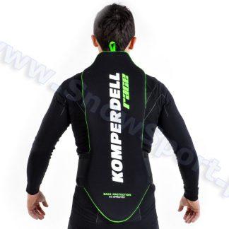 Ochraniacz na kręgosłup KOMPERDELL Race Black/Green  tylko w Narty Sklep Online