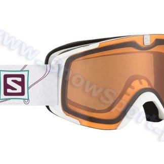 Gogle SALOMON X-View S ACCESS White Orange 2015  tylko w Narty Sklep Online