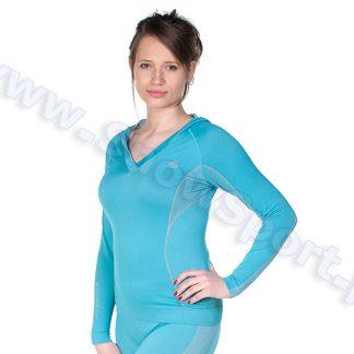 Bluza Termoaktywna Damska Brubeck Fit Balance (LS0100)  tylko w Narty Sklep Online