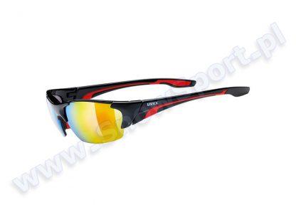 Okulary Uvex Blaze III Black Red 2316  tylko w Narty Sklep Online