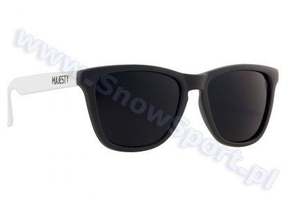 Okulary Majesty Shades M+ Black White / Black Lenses 2017  tylko w Narty Sklep Online