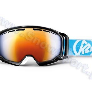 Gogle K2 Captura Black Burnt Orange Octic Blue Mirror 2013  tylko w Narty Sklep Online