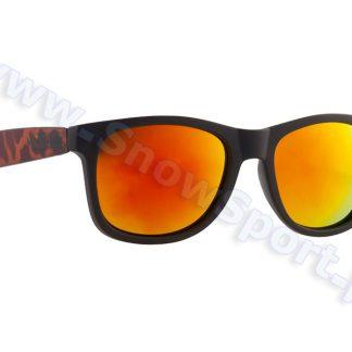 Okulary Majesty L+ Shades Black Tortoise / Red Mirror Lens  tylko w Narty Sklep Online