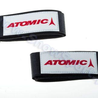 Zapinki do nart Atomic Białe 2szt.  tylko w Narty Sklep Online
