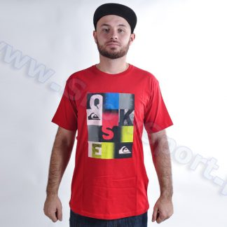 Koszulka Quiksilver Classic Tee Word Check AS RQQ0  tylko w Narty Sklep Online
