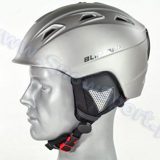 Kask Blizzard Demon Ski Helmet Dark Silver Matt 2015  tylko w Narty Sklep Online