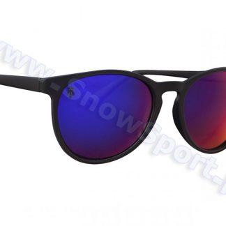 Okulary Przeciwsłoneczne Majesty Rush Black Matt / Rubby Purple Polarized  tylko w Narty Sklep Online