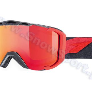 Gogle UVEX Snowstrike LTM Black-Red Mat (2326) 2015  tylko w Narty Sklep Online