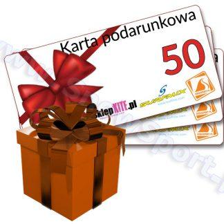 Karta Podarunkowa Bon Voucher 50  tylko w Narty Sklep Online