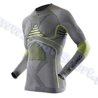 Koszulka termoaktywna X-Bionic Radiactor EVO Man iron yellow  tylko w Narty Sklep Online