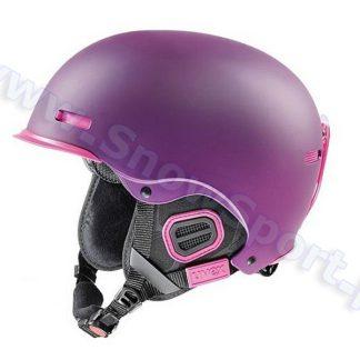 Kask Uvex HLMT 5 Pro Purple Pink Mat 2015  tylko w Narty Sklep Online