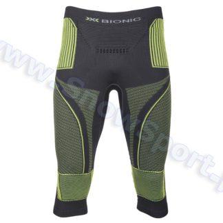 Spodnie termoaktywne 3/4 X-Bionic Energy Accumulator EVO Man charcoal yellow  tylko w Narty Sklep Online