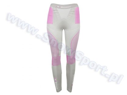 Spodnie termoaktywne X-Bionic Radiactor EVO Lady silver fuchsia  tylko w Narty Sklep Online