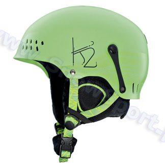 Kask K2 ENTITY Green 2015  tylko w Narty Sklep Online