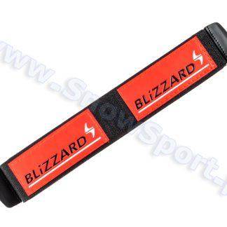 Zapinki do nart Blizzard Pomarańczowo-biało-czarne - 2 szt. (16250)  tylko w Narty Sklep Online