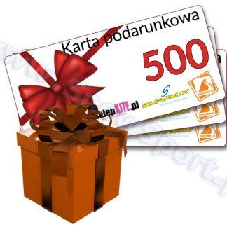 Karta Podarunkowa Bon Voucher 500  tylko w Narty Sklep Online